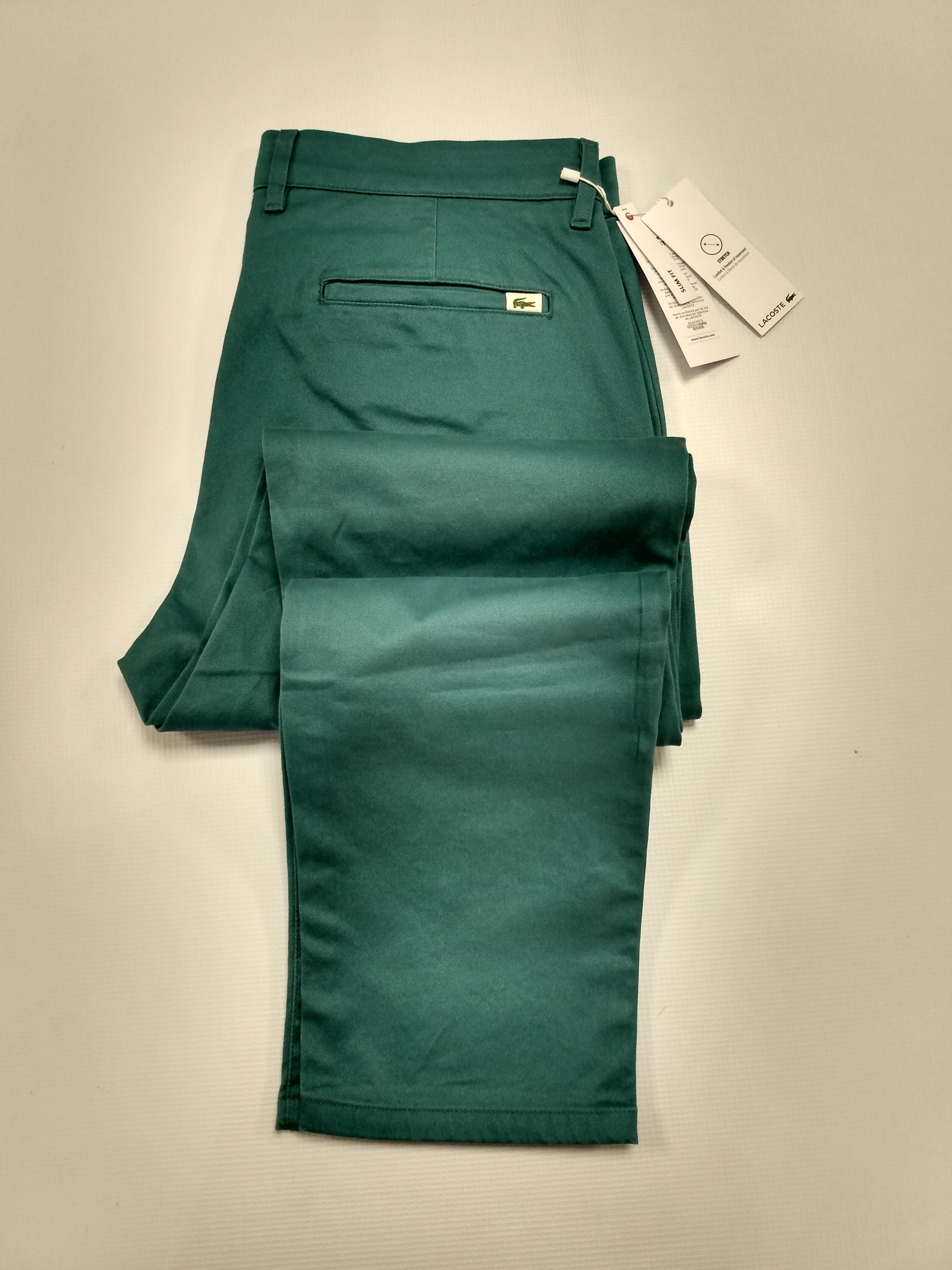 Hombre Pantalon Corte Chino